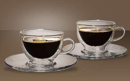 Šálky na espresso - 2 ks