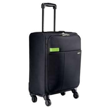 Cestovní kufr na 4 kolečkách Leitz Complete - černá