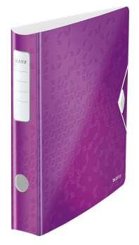 Active mobilní pákový pořadač WOW - purpurová