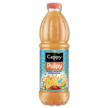 Džusový nápoj Cappy Pulpy - broskev, 1 l