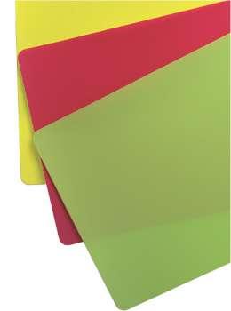 Prkénko flexibilní - barevné, 3 ks