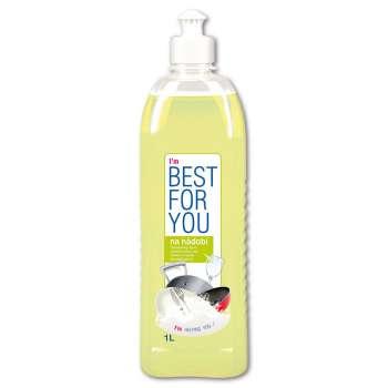 Prostředek na nádobí Best for you - citron, 1 l
