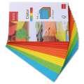 Barevné samolepící obálky C6 -20 ks