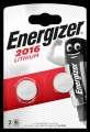Knoflíková lithiová baterie Energizer CR2016, 3V