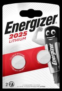 Baterie Energizer CR2025 (knoflíková, lithiová)-3V