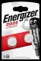 Knoflíková lithiová baterie Energizer CR2025, 3V
