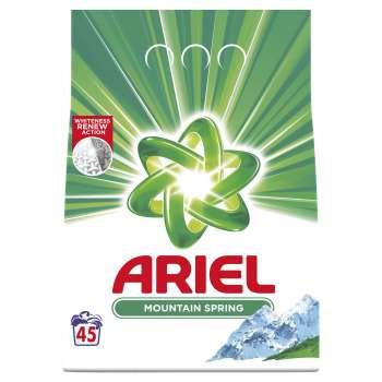 Prášek na praní Ariel Mountain Spring - 3,5 kg