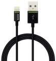 Kabel Leitz Complete Lightning na USB - 1 m, černá
