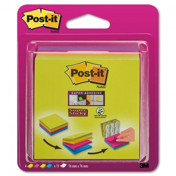 Bločky Post-it Easy Select - 76,0 x 76,0 mm
