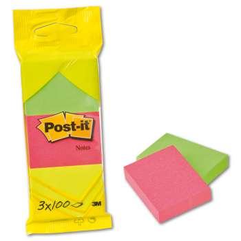Bločky Post-it  - barevné, 51,0 x 38,0 mm