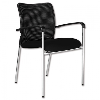 Konferenční židle Vanity Plus - černá