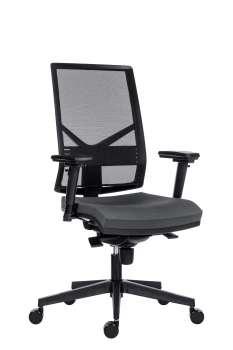 Kancelářská židle Omnia - tmavě šedá