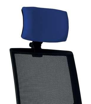 Opěrka hlavy k židli Omnia - modrá