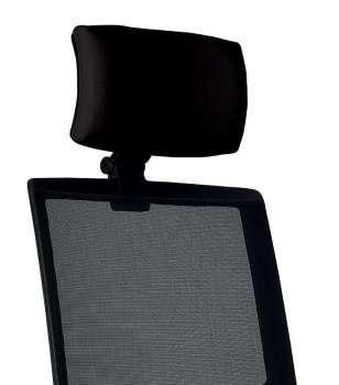 Opěrka hlavy k židli Omnia - černá