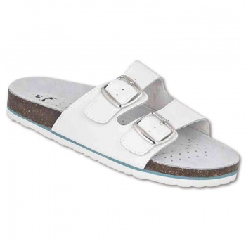 Korkové pantofle   MARS bílý, vel. 41