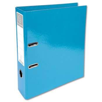 Plastový pákový pořadač Iderama - A4, světle modrý