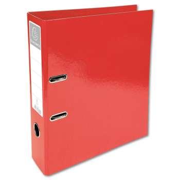 Plastový pákový pořadač Iderama - A4, červený