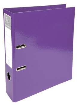 Plastový pákový pořadač Iderama - A4, purpurová