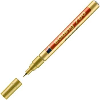 Lakový popisovač Edding 780 - zlatý