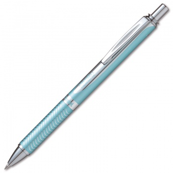 Gelový roller Pentel Energel Steel - světle modrý