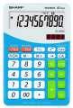 Stolní kalkulačka Sharp ELM 332 - modrá