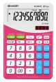 Stolní kalkulačka Sharp ELM 332 - růžová