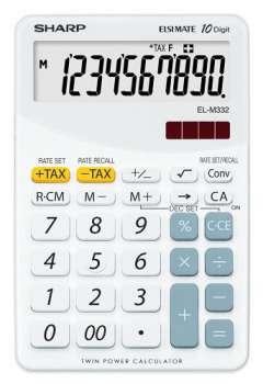 Stolní kalkulačka Sharp ELM 332 - bílá