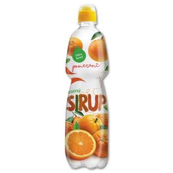 Sirup Korunní - pomeranč a rakytník, 0,75l