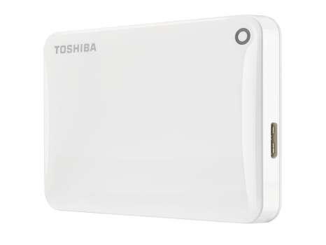 "Harddisk Toshiba Canvio Connect 2.5"" - 500 GB, bílá"