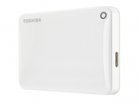"Harddisk Toshiba Canvio Connect 2.5"" - 500 GB, bílý"
