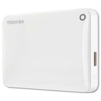 """Harddisk Toshiba Canvio Connect 2.5"""" - 1 TB, bílá"""