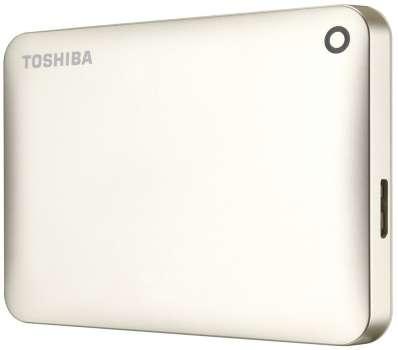 "Harddisk Toshiba Canvio Connect 2.5"" - 1 TB, zlatá"