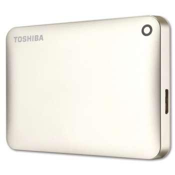 "Harddisk Toshiba Canvio Connect 2.5"" - 2 TB, zlatá"