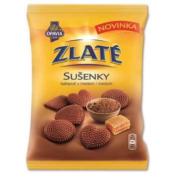 Sušenky Zlaté - kávové s medem, 180 g