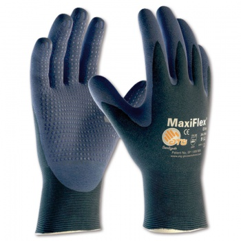 Máčené rukavice MAXIFLEX ELITE 34-244 - vel. 9