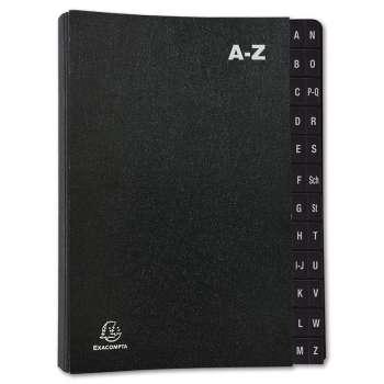 Třídicí kniha Exacompta - A4, A-Z