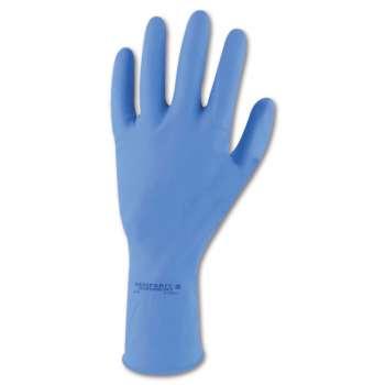 Máčené rukavice latexové   SEMPERVELVET, vel. 9