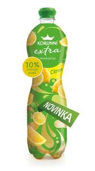 Korunní EXTRA - citron, 6 x  1 l