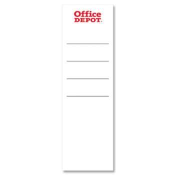 Etikety pro plastové pákové pořadače Office Depot - 8,0 cm, 20 ks