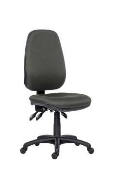 Kancelářská židle 1540 Asyn - bez područek, šedá
