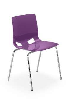 Jídelní židle Fondo - fialová