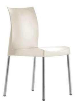 Židle Ice - bílá