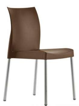 Židle Ice - hnědá