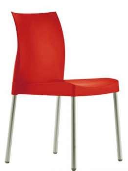 Židle Ice - červená