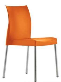 Židle Ice - oranžová
