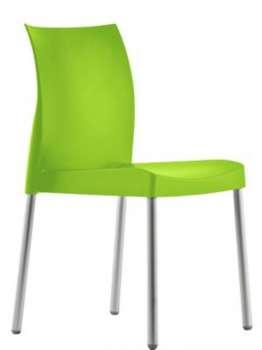 Židle Ice - zelená