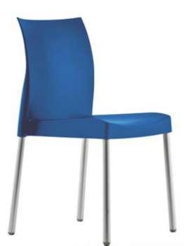 Židle Ice - modrá