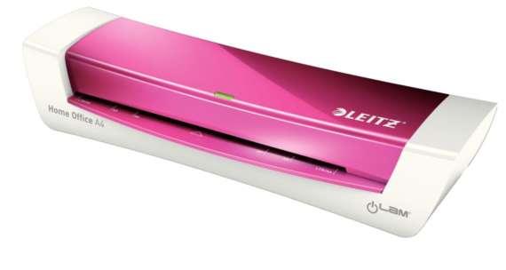 Laminátor Leitz iLAM Home Office A4, WOW růžový