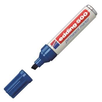 Permanentní popisovač Edding 500 - modrý