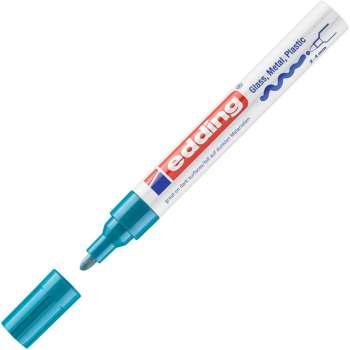 Lakový popisovač Edding 750 - světle modrý